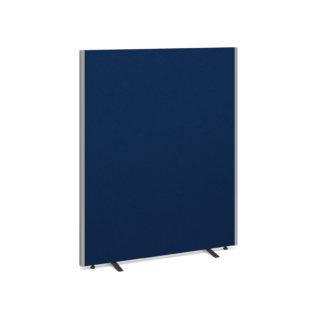 Nobis Office Furniture - Floor standing fabric screen 1500mm high x 1200mm wide - blue