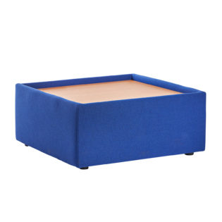 Nobis Office Furniture - Alto modular reception seating wooden table - blue