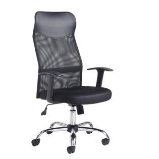 Nobis Office Furniture - Aurora high back mesh operators chair - black