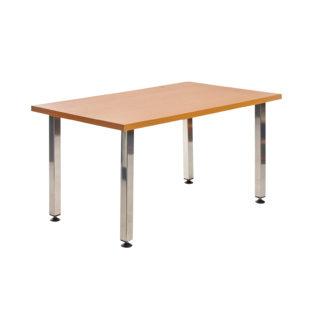 Nobis Office Furniture - Helsinki rectangular wooden reception table
