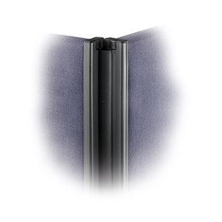 Nobis Office Furniture - Floor standing fabric screen 2 way panel linking strip 1800mm