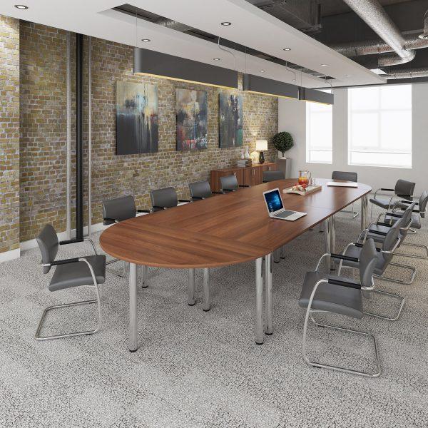Radial Leg Meeting Tables