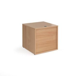 Nobis Office Furniture - Denver reception straight base unit 800mm x 800mm - beech