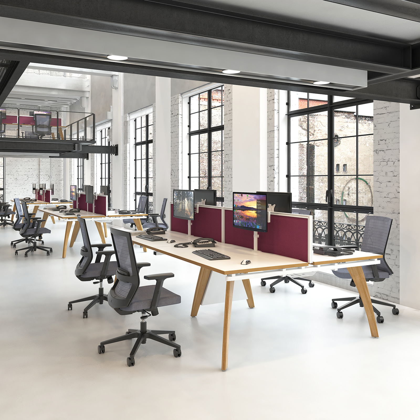 Bench Office Desks