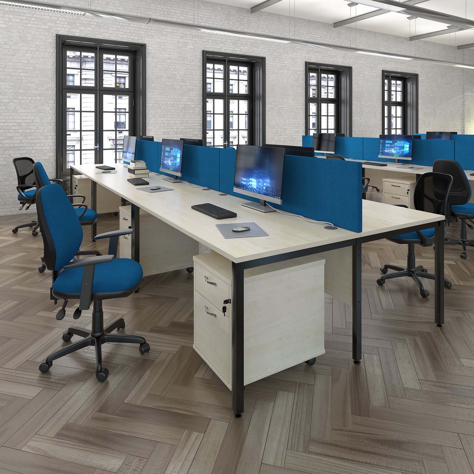 Bench Leg Office Desks