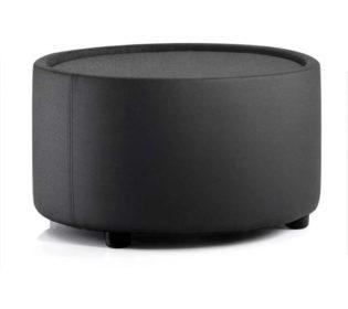 Neo Round Table Black Fabric   Nobis Office Furniture