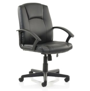 Bella Executive Managers Chair Black Leather | Nobis Office Furniture