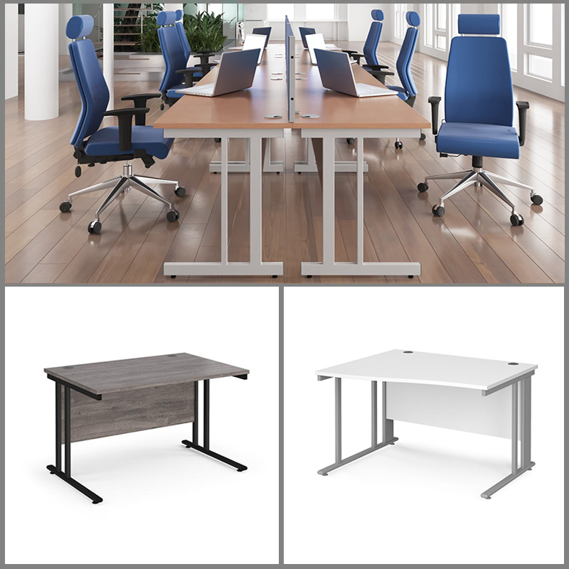 Cantilever Office Desks