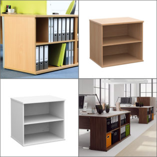 Desk High Bookcases