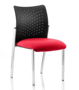 Academy Bespoke Colour Seat Without Arms Bergamot Cherry | Nobis Office Furniture